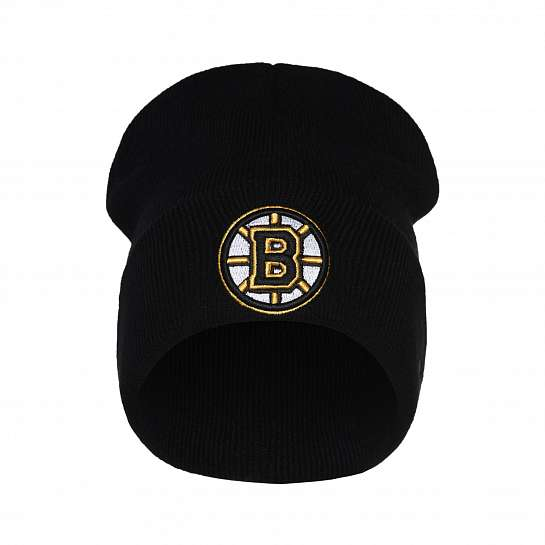 Шапка Boston Bruins, черн., 55-58 (ТМ ATRIBUTIKA&CLUB)