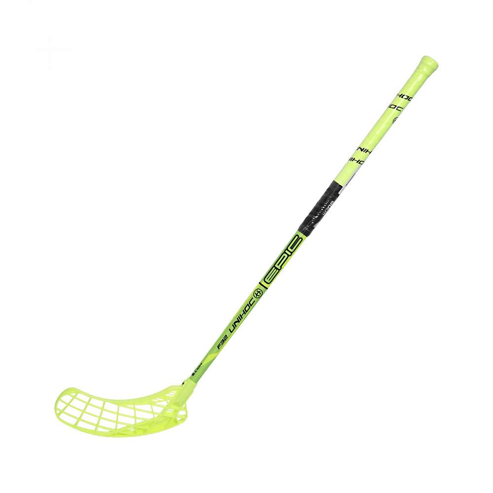 Клюшка EPIC 32 neon yellow/black 80cm L