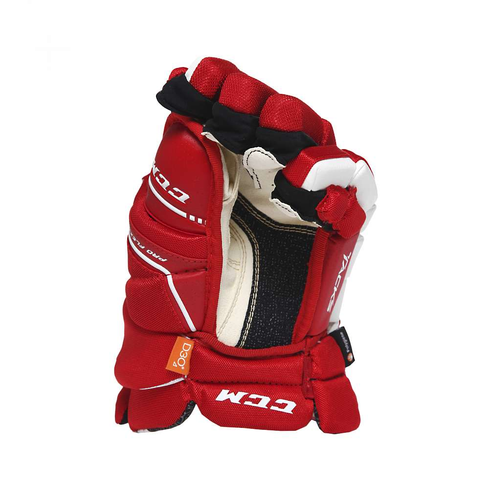 Перчатки игрока муж. HG9080 SR CCM TACKS Prot Gloves Red/White