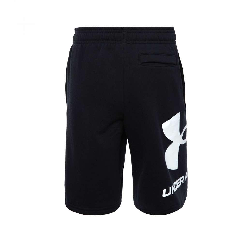 Under Armour Mens 2020 Rival Fleece UA Logo Training Fitness Sweatshort Shorts
