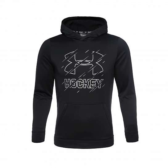 UA Hockey Hoody-BLK