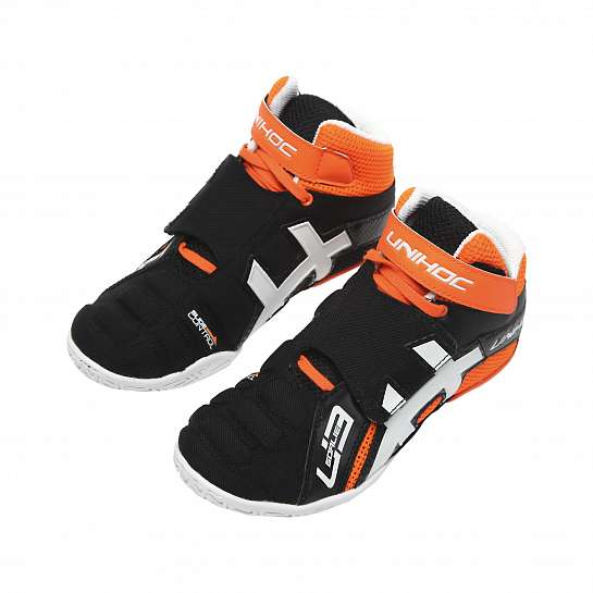 Кроссовки вратаря U3 Goalie neon orange/black US4.5/UK3.5/EUR36