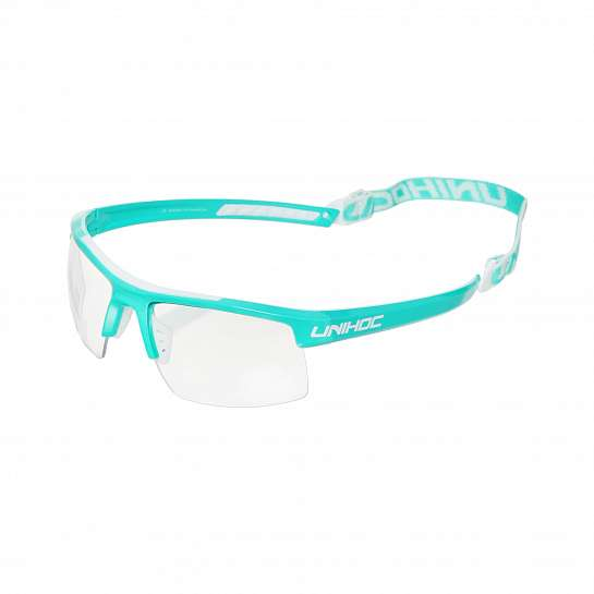 Очки ENERGY junior turquoise/white