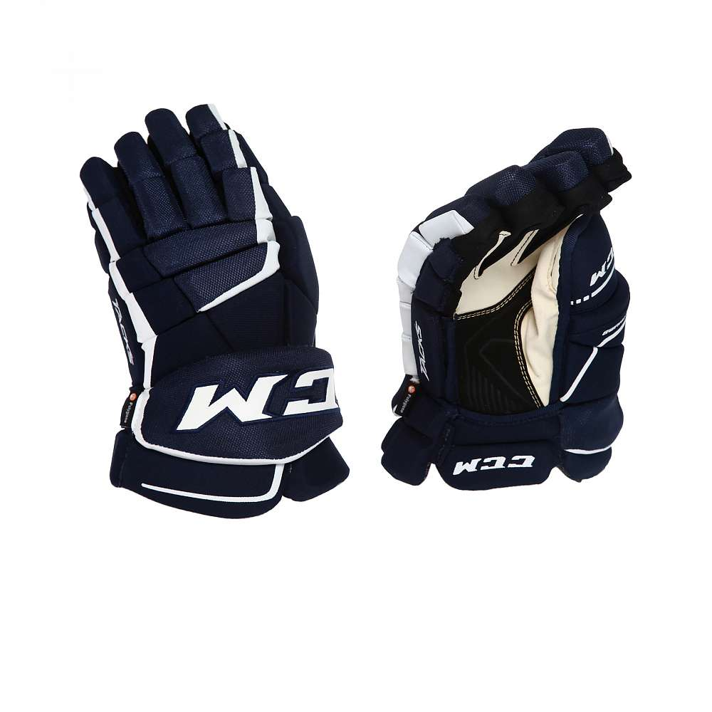 Перчатки игрока муж. HG9060 SR CCM TACKS Prot Gloves Navy/White