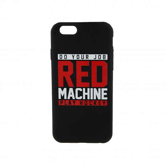 Чехол на iPhone Red Machine _6, арт.RM074, черный