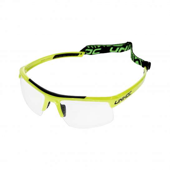 Очки защитные ENERGY junior lime yellow/black
