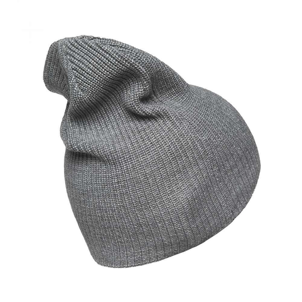 Шапка C4857 VINTAGE BEANIE KNIT Athletic Grey