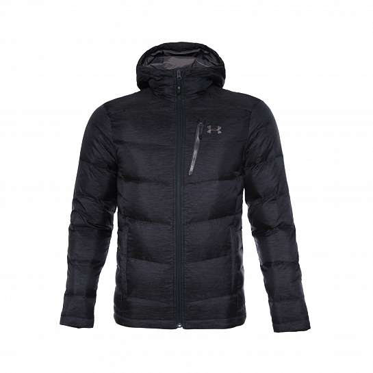 Куртка С КАПЮШОНОМ UA Outerbound Down Hooded Jacket-BLK