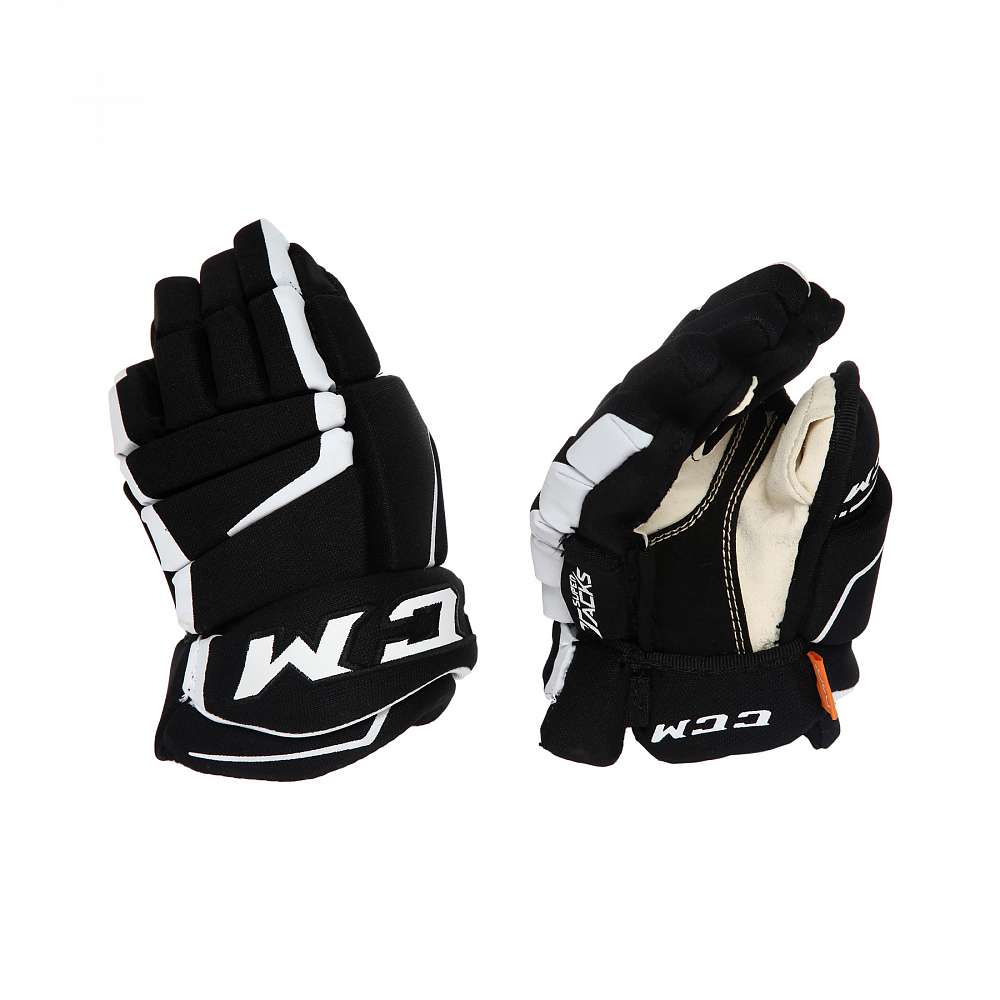 Перчатки игрока дет. HGAS1 YT CCM TACKS Prot Gloves Black/White