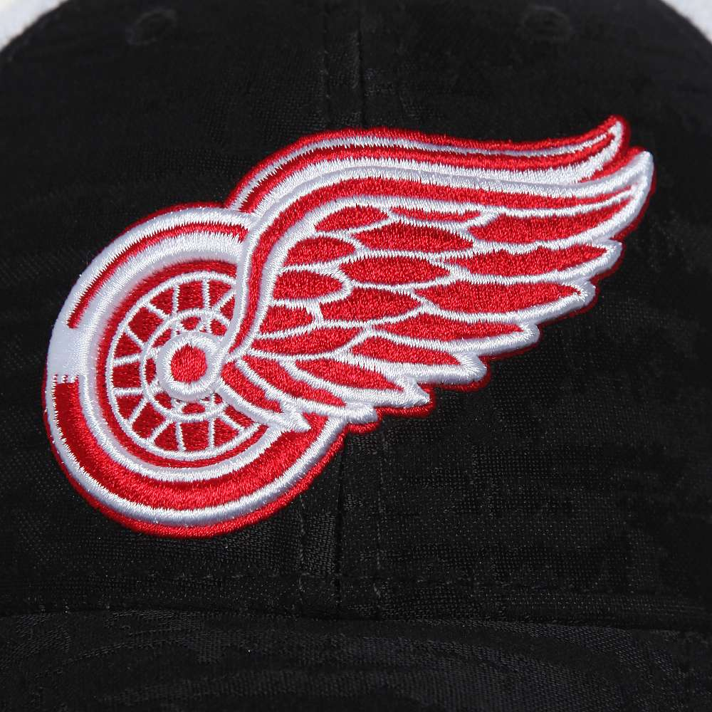 Бейсболка Detroit Red Wings, серо.-бел, 55-58