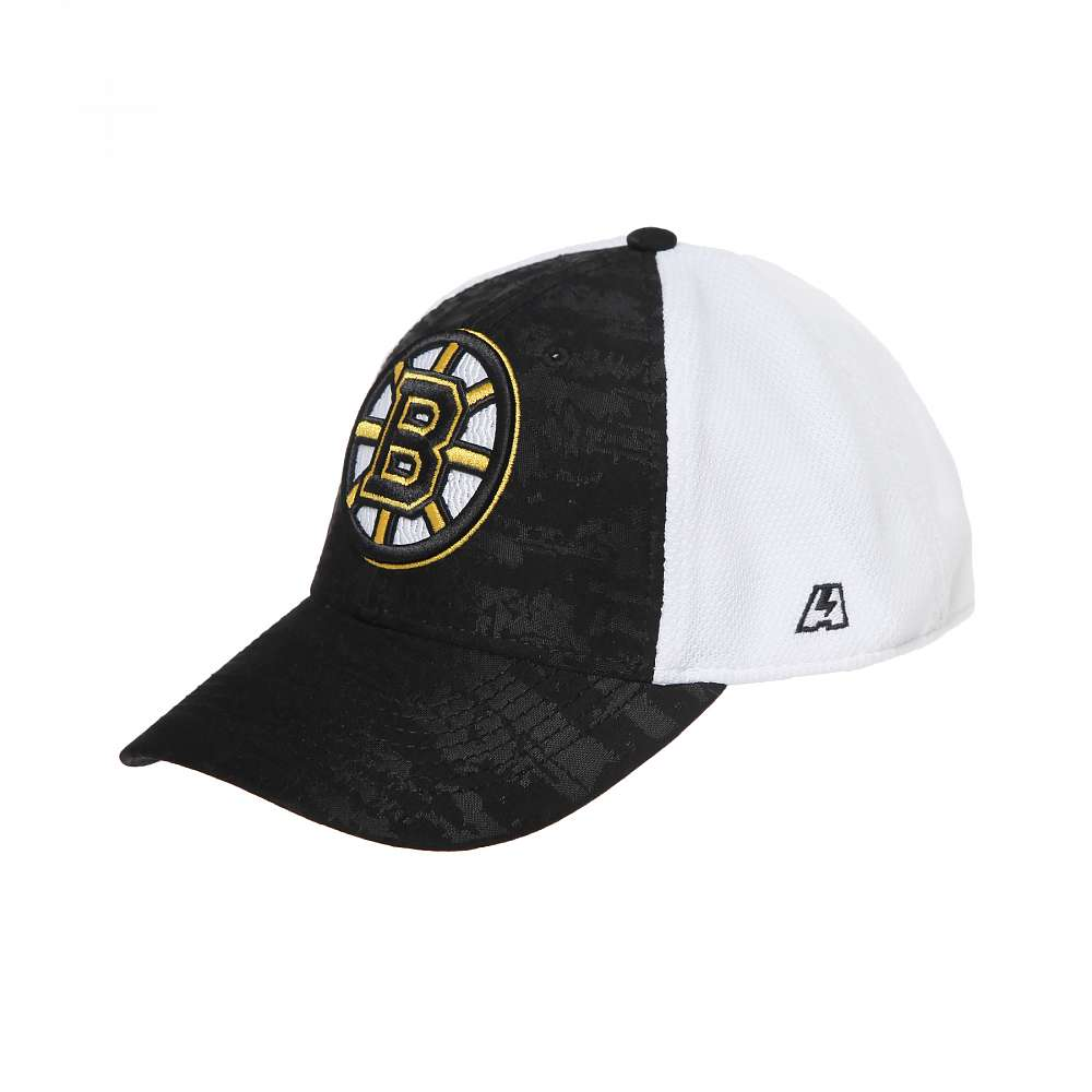 Бейсболка Boston Bruins, серо.-бел, 55-58