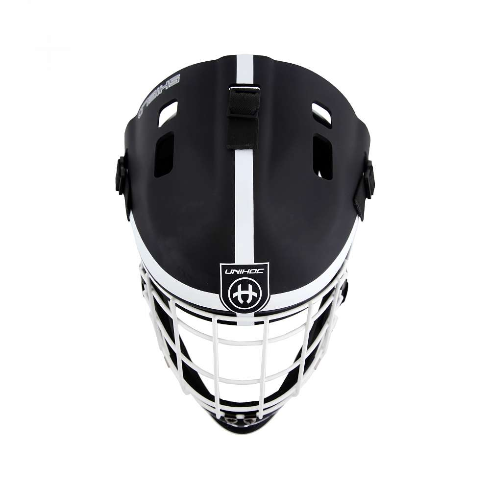 Шлем вратаря Unihoc Shield black/white