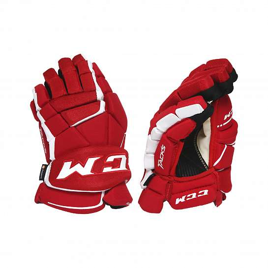 Перчатки игрока муж. HG9060 JR CCM TACKS Prot Gloves Red/White