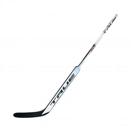 "Вратарская клюшка TRUE AX9 WHITE GOAL STICK, PC2 CURVE, 25"" PADDLE, LEFT, 57"""