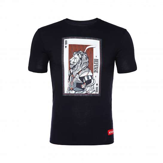 Футболка муж.T4847 CCM PLAYING CARD TEE Nightfall