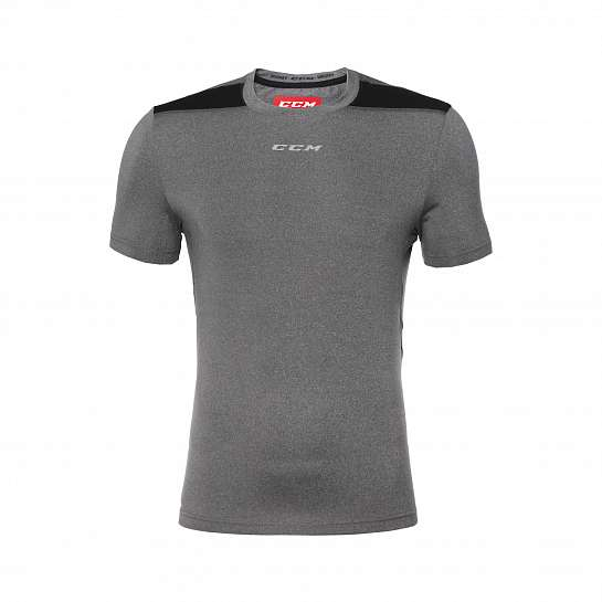 Футболка муж. T7926 PREMIUM TECH TEE DARK GREY