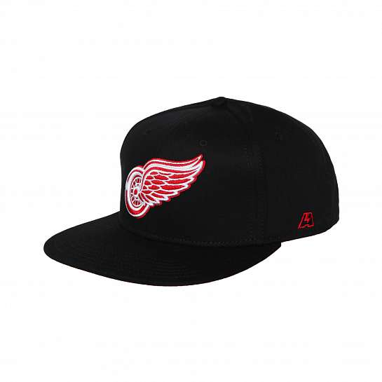 Бейсболка Detroit Red Wings, черн., 58 (ТМ ATRIBUTIKA&CLUB)
