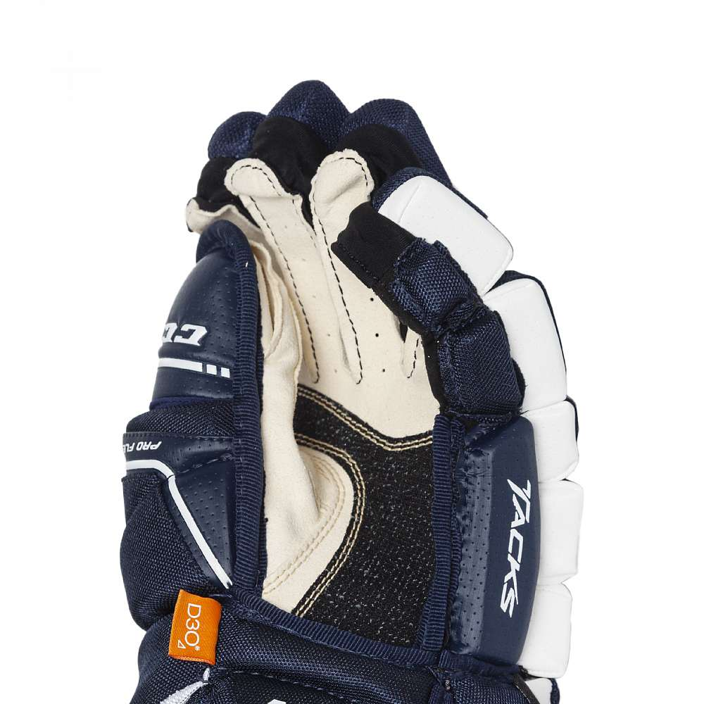 Перчатки игрока муж. HG9080 SR CCM TACKS Prot Gloves Navy/White