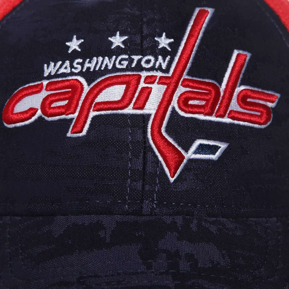 Бейсболка Washington Capitals, красн.-син., 55-58