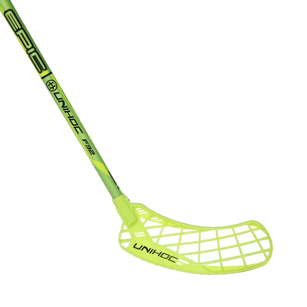 Клюшка EPIC 32 neon yellow/black 92cm L