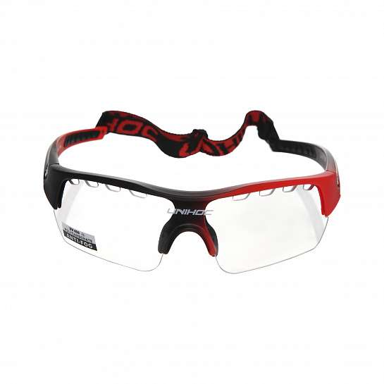Очки Victory junior black/neon red